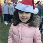 Cutie with Santa hat