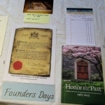Historical Display-2 Founders Days