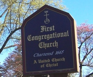 church-front-sign