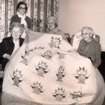 1982 Flower Basket - 12th Antique Show with Helene Sisson, Elizabeth Jackson, Betty Finney and Paula Klammt