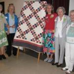 2007 Double Irish Chain with Laurel Chiappetta, Inge Thalheim, Sheila Tolmie, Claire Webber and Edna Birkeland