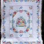 2015 Colonial Plymouth-Vintage Cross Stitch