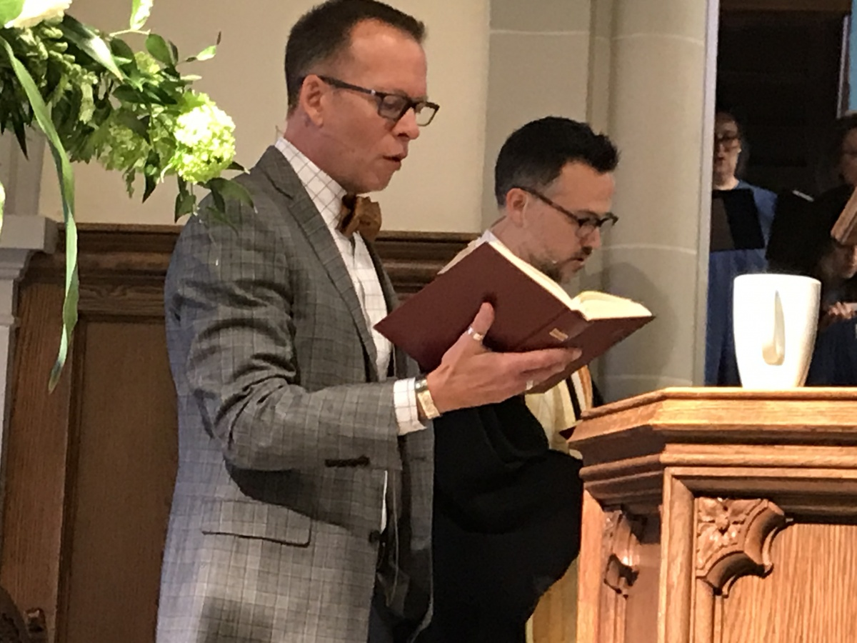 Rev. Eric Biehl and Rev. Patrick Collins 2