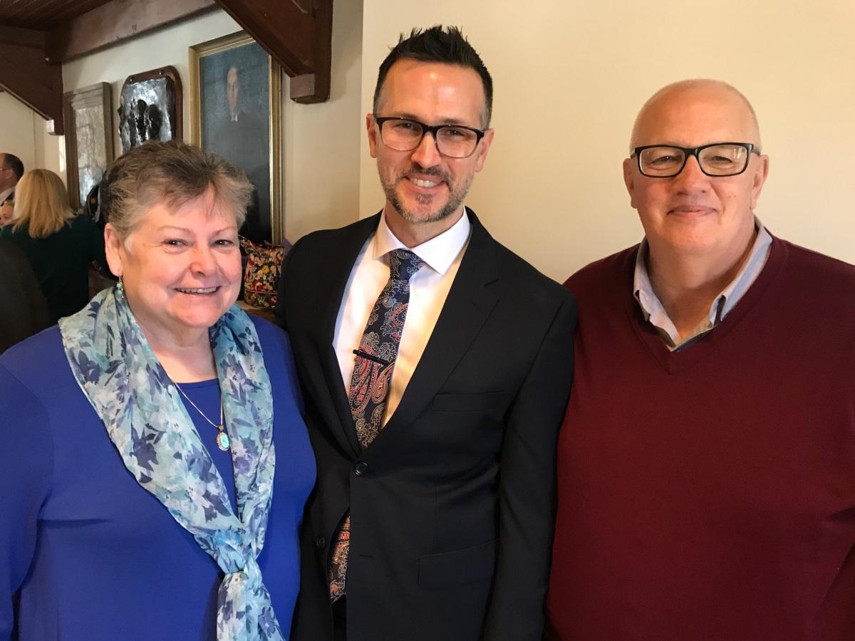 Rev. Patrick and his parents