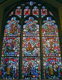 Chancel Window: Church Festivals