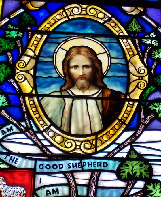 These Windows Rear Right Of The Congregation Opalescent Glass Manufactured By J R Lamb Studio In Greenwich Village NYC Those Days Were Placed