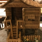 Rustic Philippino house model