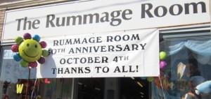 Rummage Room 50th anniversary, October 4, 2014