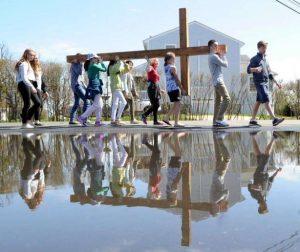 Good Friday Cross Walk