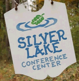 Silver Lake Conference Center sign